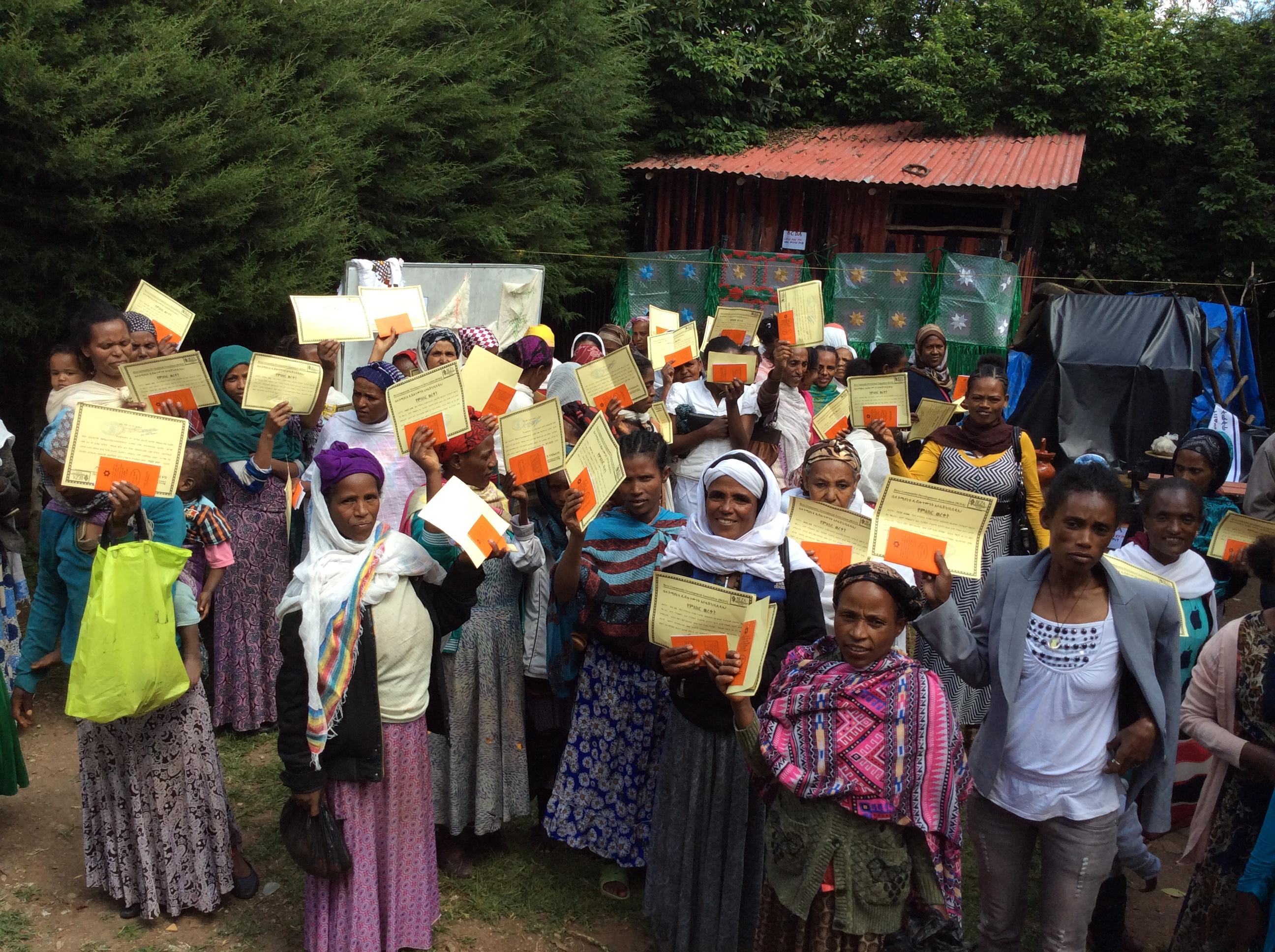 Entoto women Empowerment Graduates